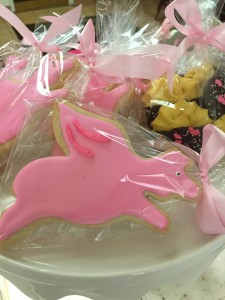 flying pig cookies