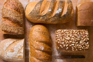 assorted pan and hearth breads