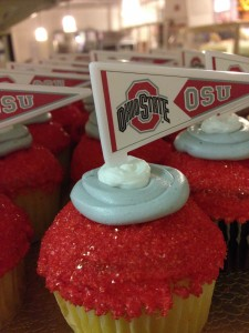 collage sport cupcakes